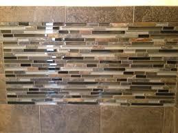 slate subway tile with glass mosaic vanity backsplash and accent stylish 11