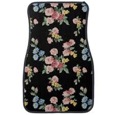 girly car floor mats. Fine Car Girly Pink Yellow And Blue Floral Customizable Car Mat In Floor Mats R