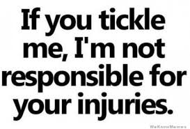 If You Tickle Me Im Not Responsible For Your Injuries | WeKnowMemes via Relatably.com