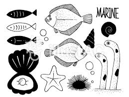 シンプル魚イラストイラスト No 501441無料イラストならイラストac