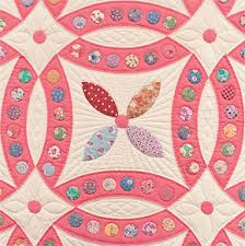 """Antique quilt patterns """"link"""" two sisters - Stitch This! The ... & 1930s quilt pattern from McCall's Jeweled Wedding Ring quilt block Adamdwight.com"""