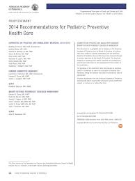 2014 Recommendations for Pediatric Preventive Health Care | From ...