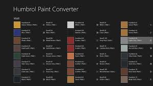 Humbrol Paint Conversion Chart Revell 76 Surprising Humbrol Revell Chart