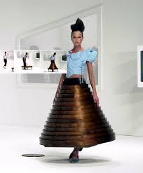 Hussein Chalayan Coffee Table Dress