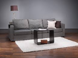 5 series long sofa with bidness grey tweed covers lovesac