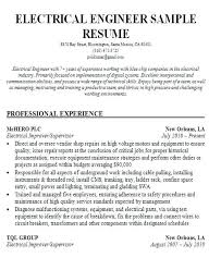 Electrical Engineering Resume Samples Electrical Engineer Resume Template Doc Engineering Samples Charted