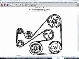 solved need diagram of drive belt route ford focus 2001 fixya i need a diagram for the belt routing of a 2003 ford focus a 2 3 liters engine