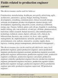 Production Resumes Top 8 Production Engineer Resume Samples