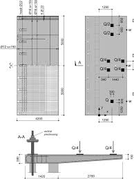 Ground Bearing Slab Design To Eurocodes Slab Dimensions Reinforcement Layout And Applied Loads For