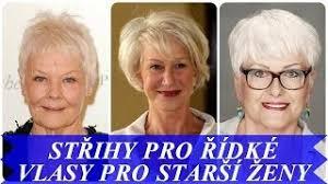 Střihy Pro Jemné A řídké Vlasy Pro Starší ženy Free Download Video