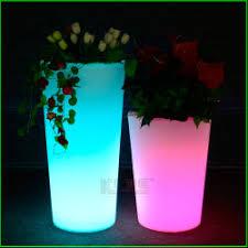 planter lighting. LED Flower Pot Lighting Color Changing Planter
