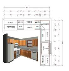 Kitchen Cabinets Layout Design