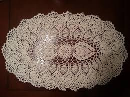 Oval Crochet Doily Patterns Free Awesome Crochet Doily Oval Pineapple Doily Part 48 YouTube