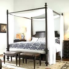 Canopy Beds White Canopy Bed White Draped Canopy Beds White Queen ...