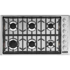 Viking Professional 5 Series 36 Gas Cooktop Stainless steel at