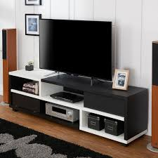 white 70 inch tv stand. Beautiful White Furniture Of America Curie Modern TwoTone 70inch TV Stand Black And White  To 70 Inch Tv