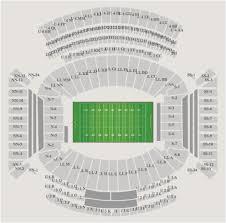 Bryant Denny Stadium Seating Chart Info