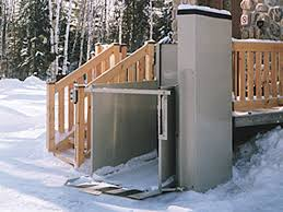 wheelchair lift for home. Fine Home Apex Hydro To Wheelchair Lift For Home
