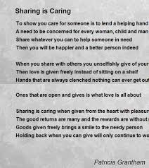 essay on love is to care and share caring and sharing essay by neerajwal anti essays