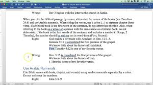How To Cite The Bible Carolina College Of Biblical Studies