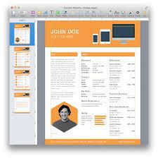 Template Resume Templates For Mac Pretentious Idea Template 8 Also