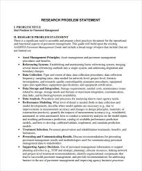 Research Problem Statement Research Statement Sample Pdf Dolap Magnetband Co