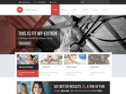gym website design 25 best wordpress fitness themes 2018 for gyms personal trainers