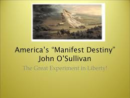 "Image result for America's ""manifest destiny"""