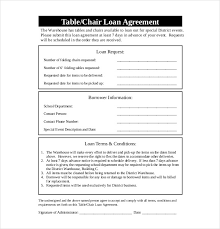 Free Loan Agreement 100 Loan Agreement Templates Free Sample Example Format Download 87