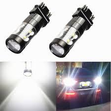 3156 Led Backup Light Bulbs Auto Parts And Vehicles 2x 3157 3156 White 6000k High Power