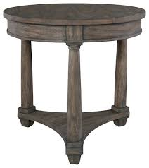 hekman lincoln park round lamp table transitional side tables and end tables by quality furniture s
