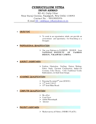 Resume Templates Example Pdf Free Download Format In Ms Word For