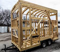 Small Picture How To Build A Tiny House Episode 16 Wall U0026 Roof Framing