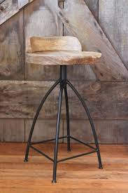 Rustic Counter Stools Kitchen 13 Best Images About Bar Stools On Pinterest Industrial Stool