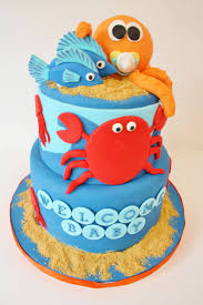Baby Shower Cakes New Jersey Under The Sea Custom Cakes Sweet