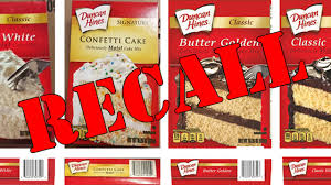 Duncan Hines Voluntarily Recall Some Cake Mixes Over Salmonella