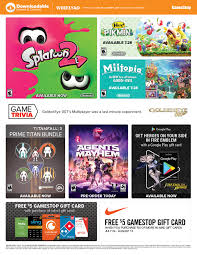 free 5 gamestop gift card with the purchase of select gift cards