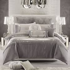 contemporary comforter sets queen best 25 silver bedding ideas on 12