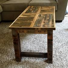 Top Pallet Ideas For Diy Oak Pallet Coffee Table