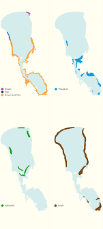Snipe Lake Depth Chart Spawning Grounds Of The Main Commercial Fish Species In Lake