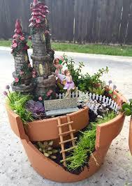 fariy garden. DIY Fairy Garden Fariy