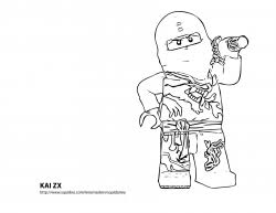 Free Printable Lego Ninjago Coloring Pages Pdf File This Series Is