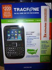 motorola tracfone. motorola ex431g prepaid phone with triple minutes (tracfone) tracfone u
