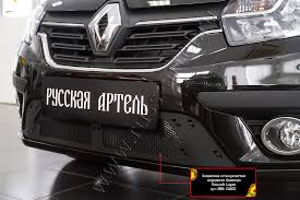 <b>Защитная сетка решетки</b> переднего бампера для Renault Logan ...