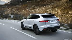 2017 Jaguar F-PACE 2.0d R-Sport AWD Diesel (Color: Rhodium Silver) - Rear  Wallpaper
