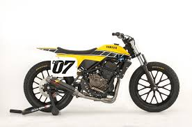 yamaha dt 07 flat track concept