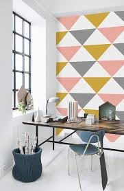 cool office wallpaper.  cool geometric pattern self adhesive vinyl wallpaper por livettes in cool office