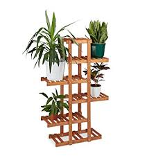 multi shelf plant stand. Relaxdays Wooden Flower Rack Shelves Indoor Plant Stand MultiTier Throughout Multi Shelf