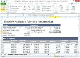 Amortization Mortgage Calculator Extra Payment Excel Mortgage Amortization Schedule With Extra Payments Displays