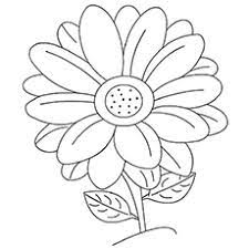 Color this picture of a sunflower and others flowers with our site of free printable… Top 47 Free Printable Flowers Coloring Pages Online